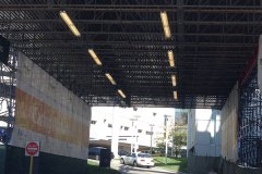 Custom truss system Christ-Hospital-Overhead-Protection-2-min-1