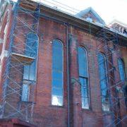 Scaffolding framing for restoration