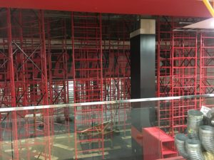 custom shoring scaffolding
