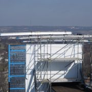 childrens-hospital-location-t-cincinnati,-ohio-(-10x6-beams-on-scaffolding-towers)