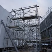 childrens-hospital-location-t-cincinnati,-ohio-(-5x5-beams-on-scaffolding-towers)