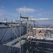 childrens-hospital-location-t-cincinnati,-ohio-(-5x5-beams-on-scaffolding-towers)-(9)