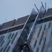 childrens-hospital-location-t-cincinnati,-ohio-(u-shaped-swing-stage-and-10x6-beams-on-scaffolding-towers)