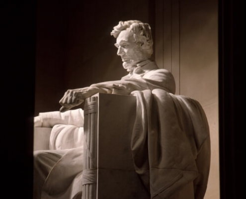 Statue of President Lincoln