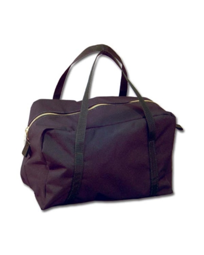 Carrying bag with handle and zipper